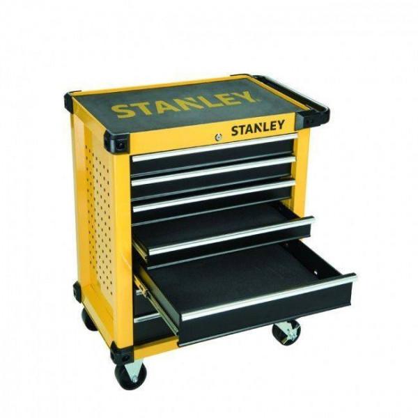 Carro taller Stanley porta herramientas con 105 herramientas incluidas