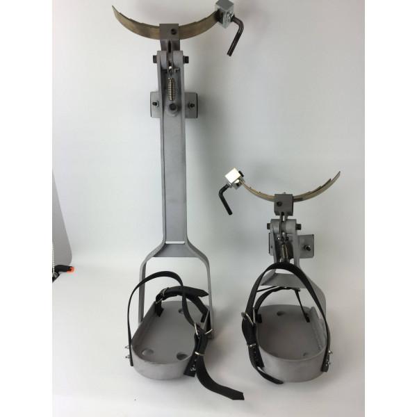 Bicicleta de poda palmeras duraluminio