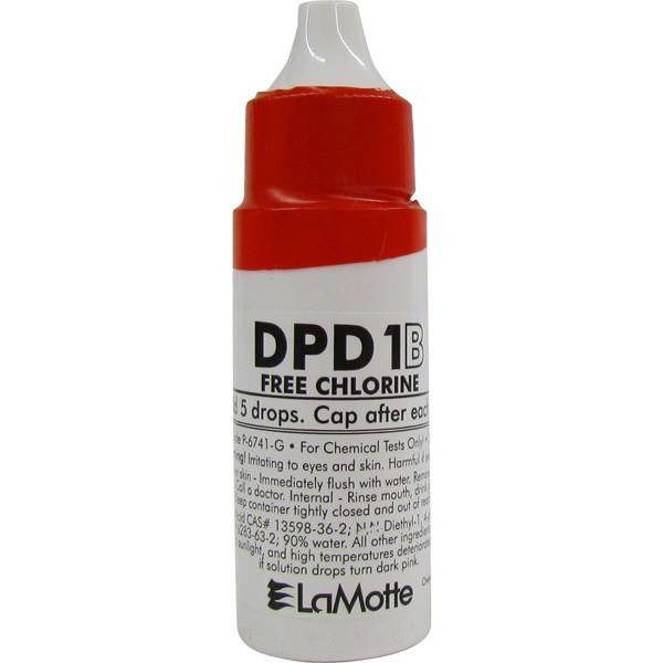 RECAMBIO DPD 1B FREE CHLORINE COLOR Q