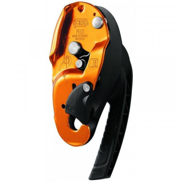 SELF-BREAKING DESCENTOR RIG PETZL