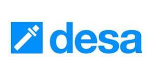 Logo DESA la gama más amplia  de anclajes y fijaciones  para aplicaciones  en la industria  y la construcción